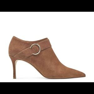 🌸 NINE WEST MAGAERA ANKLE BOOT (Natural suede) 🌸